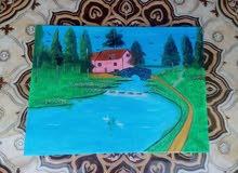 تخفيضات في القيمة  لمن يريد أن ارسم له لوحات للمدارس او الفعاليات والمنازل
