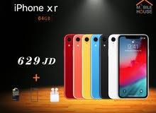 ايفون XR 64 جيجا جديد اصلي 100٪ + هدايا قيمة من معرض Mobile House