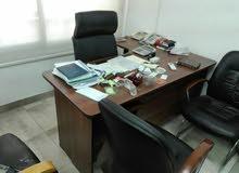 مكتب مدير حرف ال 160سم جديد