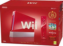 Nintendo Wii Red Edition Used