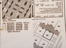 ارض للبيع في حي الرفعة -صحار