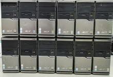 للبيع كمبيوترات نوعية acer متوفر كمية