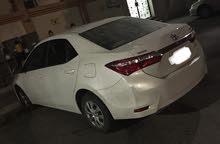 سيارة كورلا للبيع 2015 - مستعملة شبة جديدة