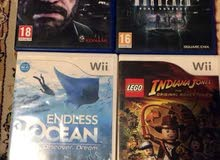 PlayStation 4 and wii games and 98 movies