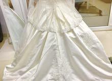 فستان عروس جدا راقي للايجار