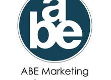 مطلوب مندوبات للعمل لدى شركه ABE للاعلان و التسويق