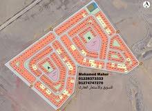 للبيع ارض بيت الوطن اكتوبر على الخدمات
