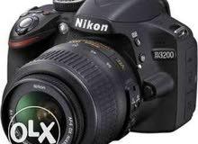 كاميرا نيكون d3200كسر زيرو للبيع