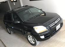 Kia Sportage 2007 For sale - Black color