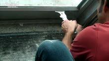 صيانة تامة لأبواب و نوافذ الألمنيوم و البي في سي (PVC) و السرانتيات و البومبات *بالضمان*