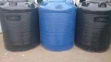 خزانات مياه مصنعه من مواد مضاده للبكتيريا من المصنع مباشر