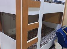 سرير طابقين خشب تفصال