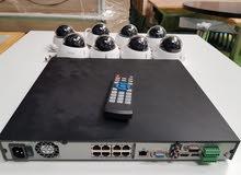 Receiver aduha + 8 IP Camera ريسيفر ادوها + 8كاميرا اي بي