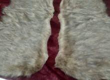 tapis chic fourrure