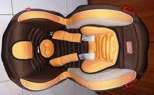 Juniors Royal Baby II Car Seat ( 9-25KG) – Orange/Brown