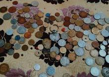 قيطعة نقدية قدمة من مختلف الدول