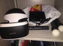 بلاي ستيشن 4  مع VR كامل sony