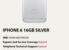ايفون 6 عادي 16 جيجا