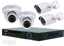 كاميرات مراقبه + dvr لماركة hikvision