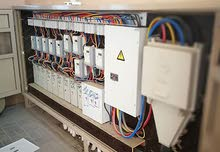 جميع أعمال التعهدات والصيانة الكهربائية