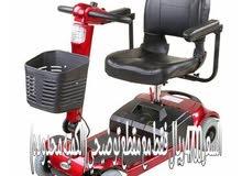 عربة كرسي كهربائي لكبار السن وذوي الإحتياجات الخاصة