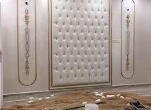 جميع انواع الديكورات والاصباغ الجديدة تشكيله كبيره ومتنوعه من ورق الجدران