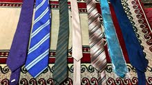 7 كرافات بألوان فاخرة للبيع ب5