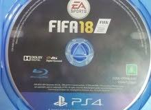FIFA18 PS4 بيع او مراوس