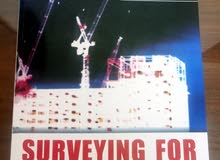 كتاب Surveying for construction  (مساحة)