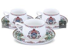 فنجان ماركة كاراجا يتكون من سته فناجين مع خدمة توصيل مجاني