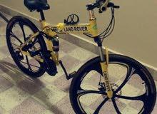 دراجة هوائية غير مستعملة للبيع .