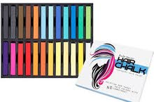 Bundle Monster Non-Toxic Temporary Hair Pastel Chalk Beauty Kit - Mix Color Variety Beauty Design