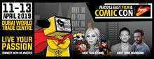 Middle East Comic Con In Dubai 2019 Tickets