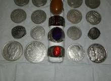 عملات من الفضة
