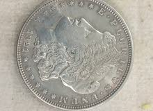 دولار أمريكي 1921 فضه نادر جدا
