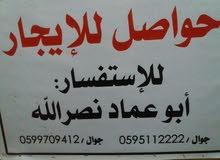 حواصل للايجار الشيخ رضوان الشارع الاول مفترق السوق مقابل معروف لمواد البناء