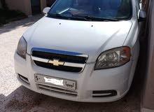 White Chevrolet Aveo 2011 for sale
