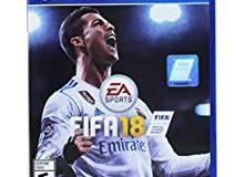 Fifa 18 PS4 - نسخة الفيفا 18 بلايستيشن 4 انجليزي
