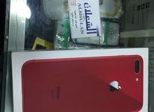 ايفون8 بلس اللون المميز لون احمر GSM جديد بالكرتون800$