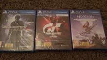 دسكات ps4 جديد بي نايلو Uncharted 4,GT, Horizon