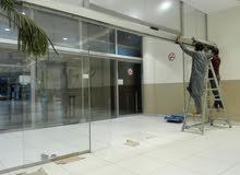 عمل الزجاج السيكوريت و المونيم و صيانه كاملا الزجاج
