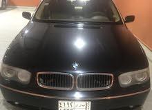 BMW 730i 6 cylinder