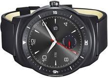 ساعة ال جي الذكية موديل جي واتش ار LG G Watch R W110
