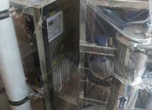 بيع وتركيب وصيانه للأجهزة وملحقات المحطات التحليه التجارية والمصنعيه والمنزلية