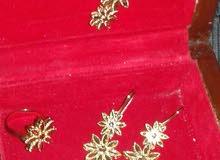 طقم ايطالي تصلي لايفرق عن الذهب الااصلي  تلبيسة عروس كامل