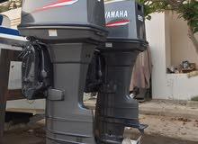 للبيع محركات ياماها 85 حصان بحالة الوكالة شبه جديدة