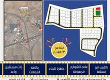 اراضي للبيع بمخطط أبو النخيل بولاية بركاء بالقرب من جسر النسيم المؤدي للسريع