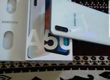 سامسونجA50       الموصفات معروفه مستعجل للبيع   التلفون  قاعد جديد ب الباكوا