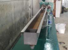 ماكينة  لصناعات شلومنات  ( مصاصات ) العصير     بكافة الاحجام مجدده لوحة كهرباء جديدة