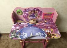 ديسك اطفال ( مكتب و كرسي ) للبيع